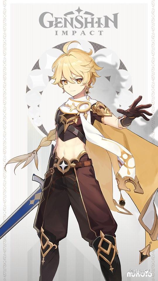 Male Traveler Character In Genshin Impact - Genshin Impact ...