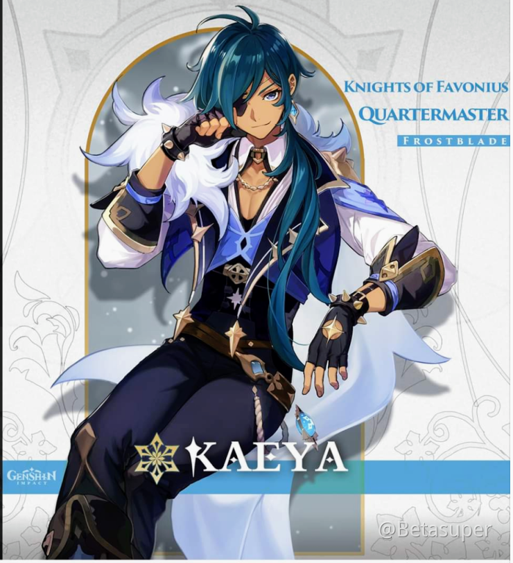 Your Butler Choice Kaeya Or Diluc Genshin Impact Official Community