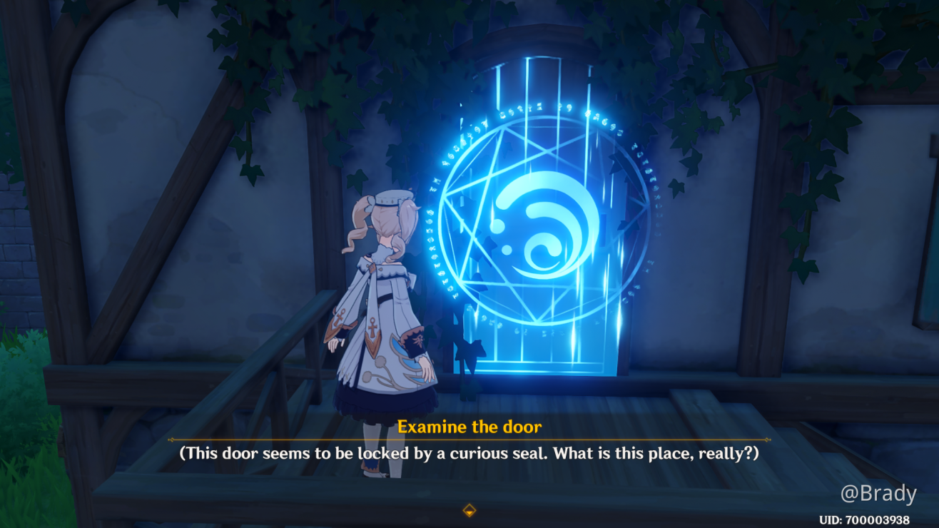 Mystery The Door With The Water Mark Genshin Impact Official Community