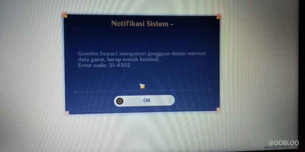 Error Code 31 4302 Genshin Impact Official Community