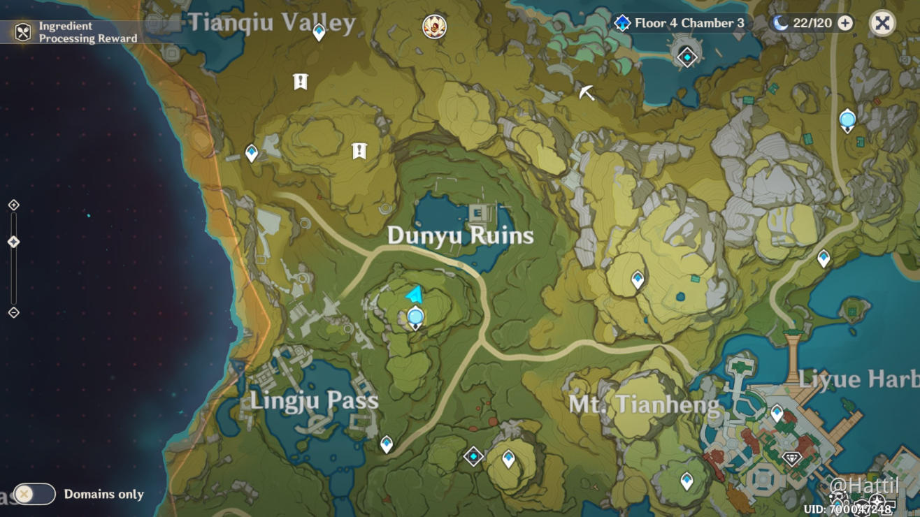 Guide The Nameless Treasure Dunyu Ruins Genshin Impact Official Community