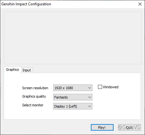 Pc Tip Change Graphics Settings Before Launching The Game Genshin Impact Official Community